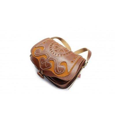 Bolso Rociero piel vaquetilla 1516