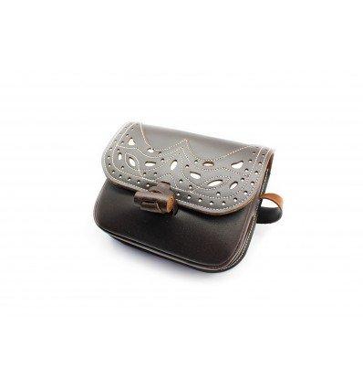 Bolso Rociero Piel Engrasada 1515/PUL